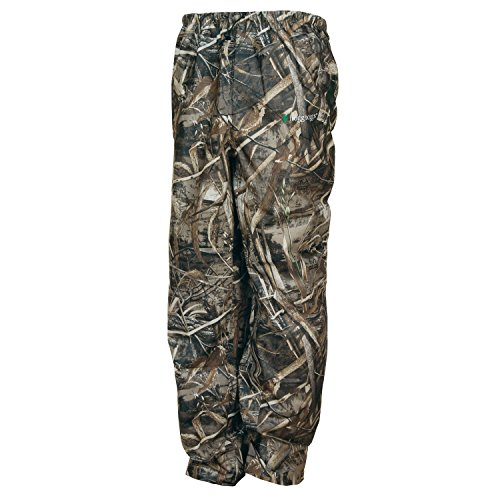 Frogg Toggs Pro Action Water-Resistant Rain Pant, Realtree Max5, Size X-Large
