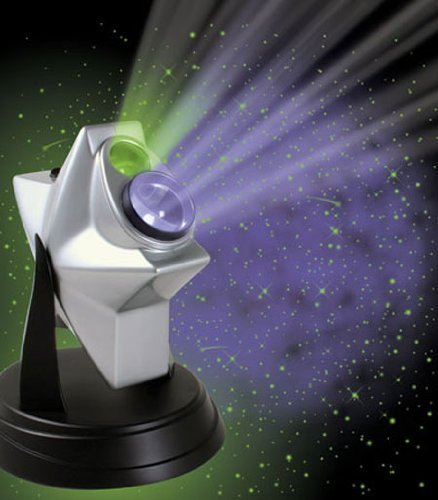 Parrot Uncle 270 Degree Rotating Laser Twilight Stars Hologram Projector Constellation, Nebula Galaxy Projection
