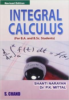 coupanfai - Integral calculus shanti narayan pdf