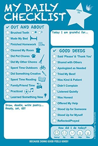 AmazonCom  Innerguide Planners Daily Checklist For Kids Daily