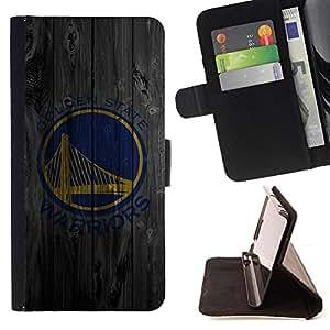 - Golden Warriors Sports Team - - Prima caja de la PU billetera de cuero con ranuras para tarjetas, efectivo desmontable correa para l Funny HouseFOR Samsung Galaxy Note 3 III