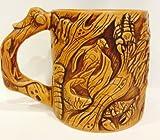 Disney Park Animal Kingdom Tree of Life Animal Carving 3D Large Ceramic Mug