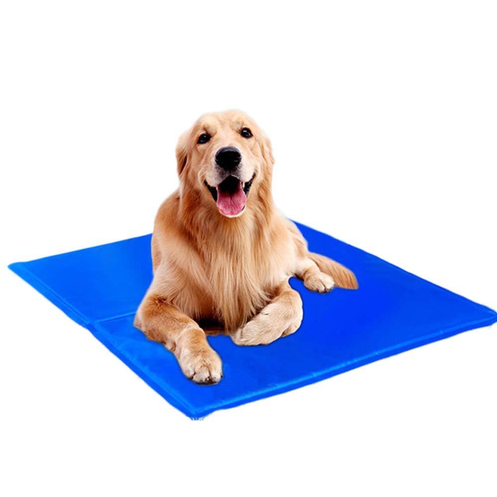 Medium WYXR Summer MultiFunction Pet Gel Ice Pad, Cooling Pad Cat And Dog Universal, Cushion Sofa Floor,M