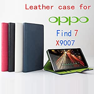High Quality Green Bottom New Original OPPO Find7 X9007 Leather Case Flip Cover for OPPO Find 7 X 9007 Case Phone Cover In Stock --- Color:Rose