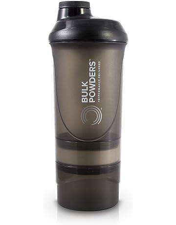 BULK POWDERS 600 ml Black Pro Series Storage Shaker d7c6ed57c95dc