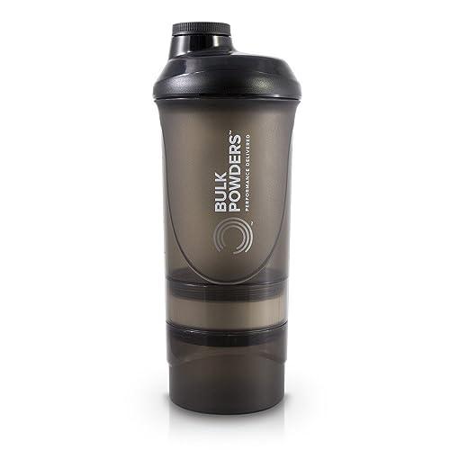 BULK POWDERS 600 ml Black Pro Series Storage Shaker