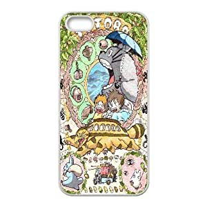IPhone 5,5S Cases Spirited Away Poster, - [White] Bloomingbluerose BY BYC DESIGNS