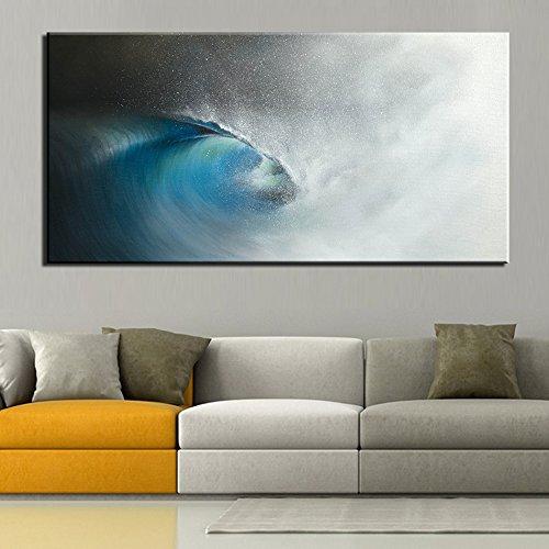 STJK $ bmjw PrintsビーチPainting Sea Gulfサンセット壁写真用リビングルームキャンバスのみ(フレームなし) () 6975826912414 B07DW3KBPC 16x32inch(40x75cm) 16x32inch(40x75cm)