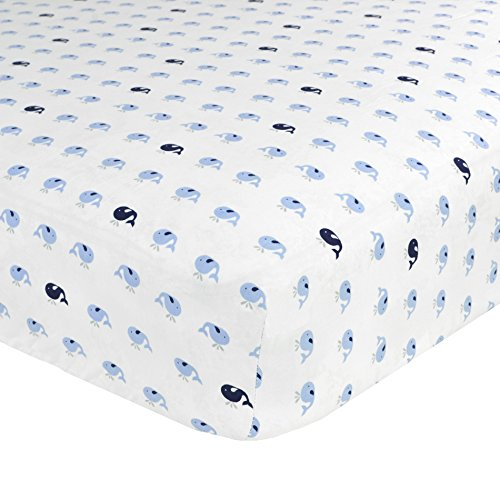 Just Born Cotton Fitted Crib Sheet, Jonah from Just Born