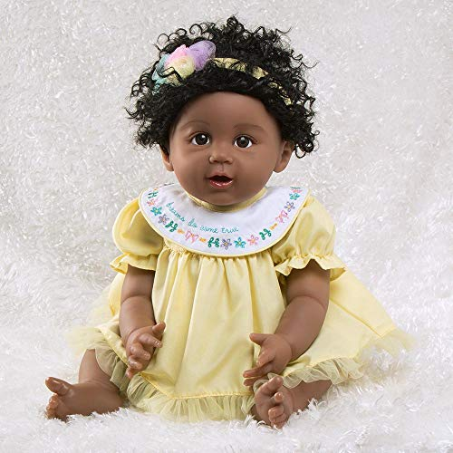 Paradise Galleries African American Black Reborn Baby Doll