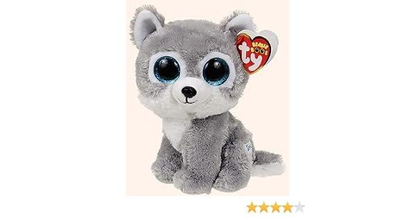 08fcdfc3427 Amazon.com  Warrior the Wolf Beanie Boo by Ty - 6