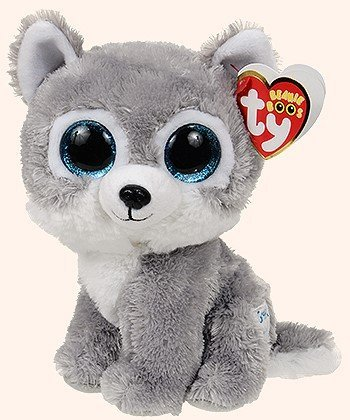 26279e0a358 Amazon.com  Warrior the Wolf Beanie Boo by Ty - 6