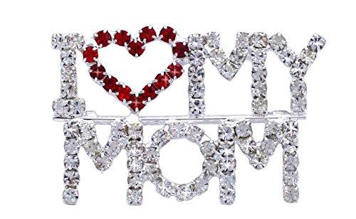 cocojewelry I Love Heart My MOM Word
