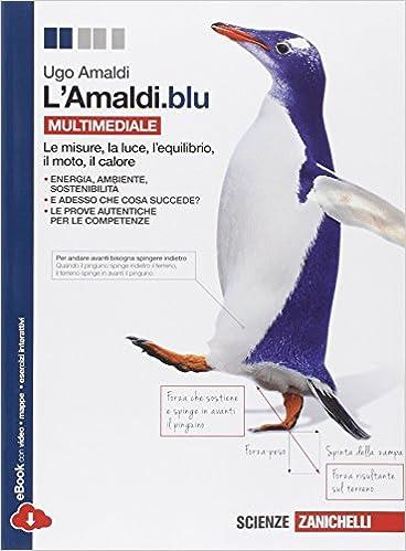 L''Amaldi.blu. Volume unico. Per le Scuole superiori. Con espansione online