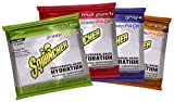 Sqwincher 016044-AS 23.83 Ounce Powder Pack Instant Powder Concentrate Packet Assorted Flavors Electrolyte Drink - Yields 2.5 Gallons (32 Packets Per Case), English, 22.85 fl. oz, Plastic, 1 x 1 x 1