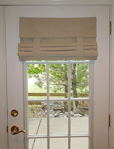 Tan French Door Curtain (1 panel) & Door Shades: Amazon.com Pezcame.Com