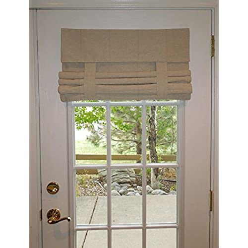 Tan French Door Curtain (1 panel)  sc 1 st  Amazon.com & Door Shades: Amazon.com