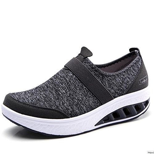XUE Women's Shoes Cloth Spring Fall Loafers & Slip-Ons Driving Shoes Fitness Shake Shoes Shake Shoes Shaking Shoes Flat Loafers Sneakers Athletic Shoes Platform Shoes (Color : E, Size : 41) C
