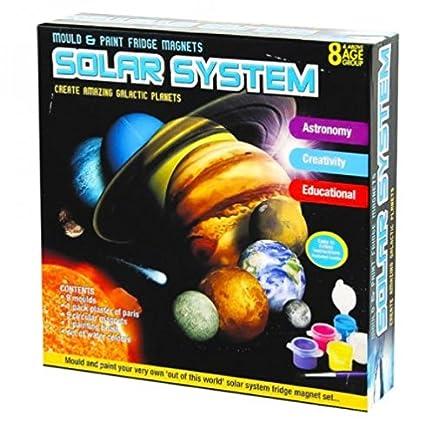 Childrens Kids sistema Solar planeta imán para nevera molde agua ...