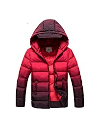 Kids Jacket Boys Down Jackets Coats Thick Cotton Wadded Jacket Big Boys Parka Jacket