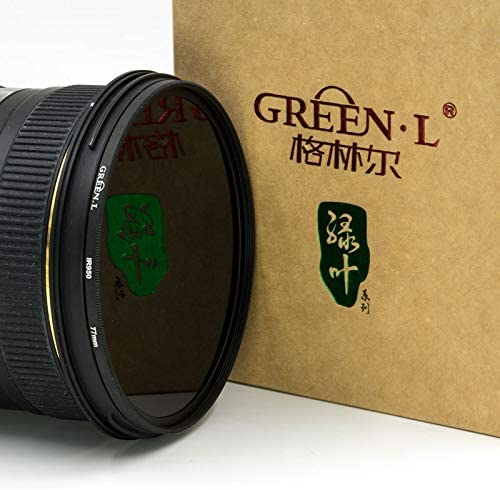 Green.L 25mm IR 680 Glass Infrared X-Ray Filter 680nm IR Filter for Camera Lens Digital DSLR SLR