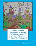 Terry and the Monsters Activity Coloring Book, Anna Day, 1497490243