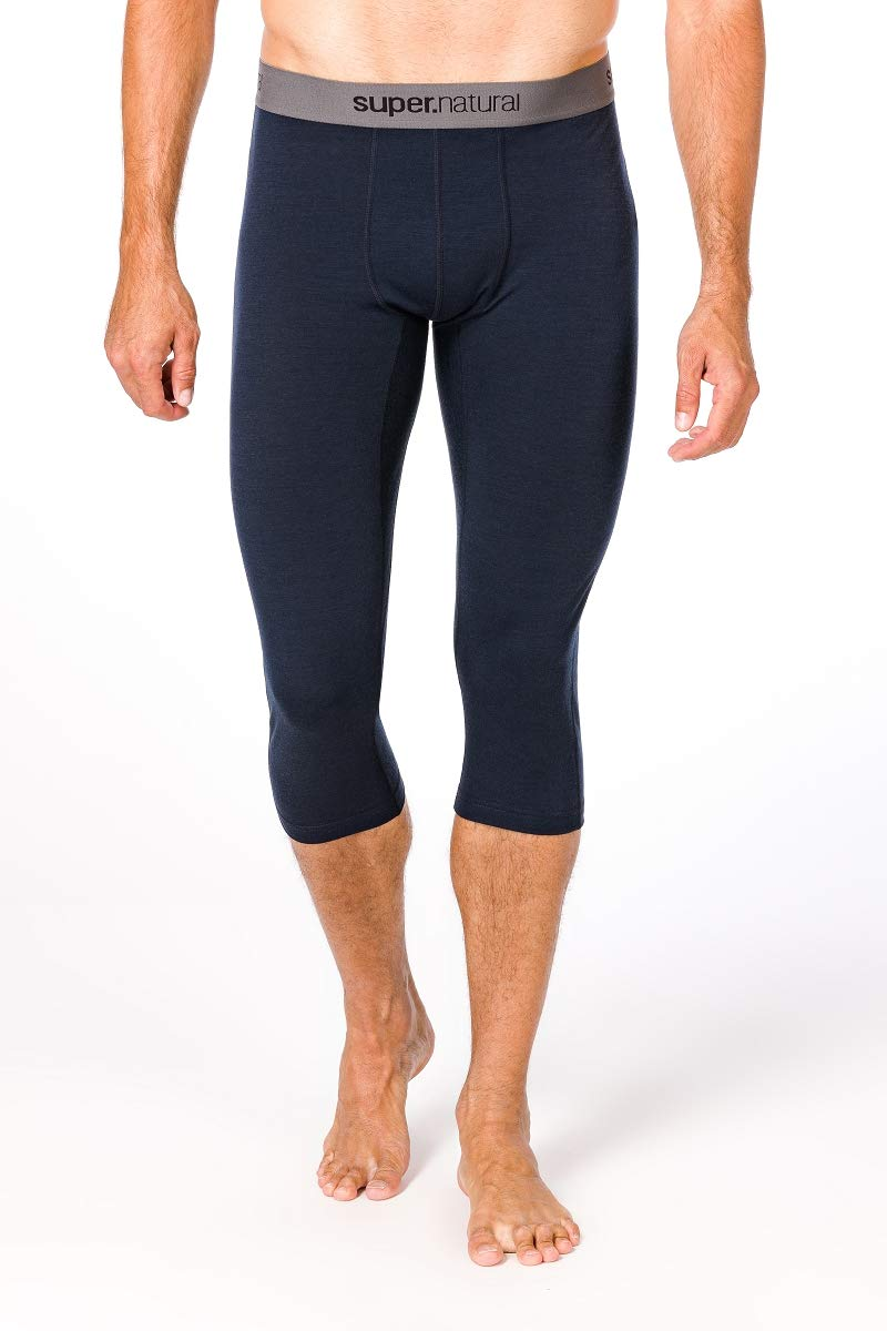 super. natural M Base Men's 3/4 175 Merino Tight, Men, SNM003900