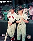 Mickey Mantle & Ted Williams - Yankees / Red Sox classic MLB 8x10 Photo