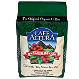 Cafe Altura Whole Bean Organic Coffee, Dark Roast, 5 Pound Review