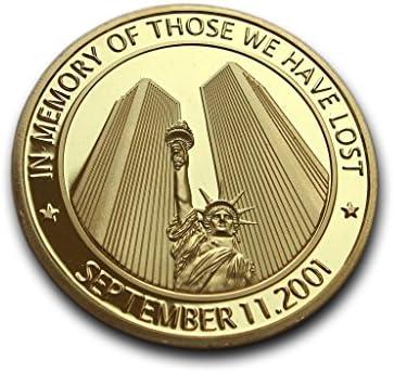 11 de septiembre de moneda conmemorativa 40 mm American Heroes ...