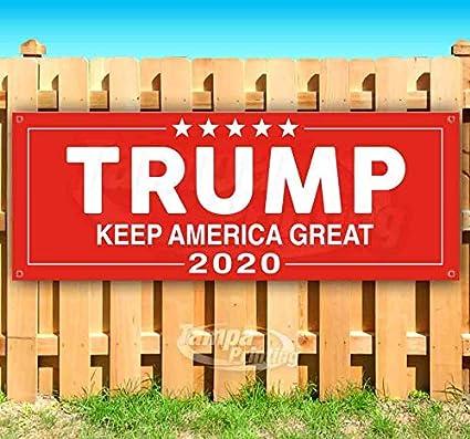 Best Indoor Tanning Lotion 2020 Amazon.: Trump Keep America Great 2020 13 oz Heavy Duty Vinyl
