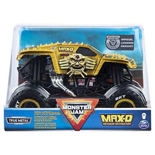 Monster Jam, Official Max D Monster Truck, Die-Cast Vehicle, 1:24 Scale (24 Scale)