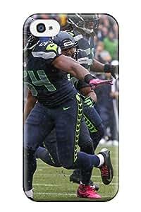 New Premium Flip Case Cover Seattleeahawks Skin Case For Iphone 4/4s