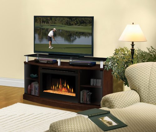 Entertainment Consoles with Electric Fireplaces