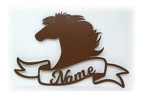 Schlummerlicht 24 Pferdebesitzer Holz Deko Geschenk Mit Name Fur
