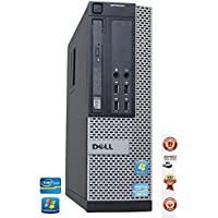 Dell Optiplex 790 SFF Desktop Computer with SSD - Intel Core i5-2400 3.10GHz 8GB DDR3 RAM 128GB SSD DVD Windows 7 Professional (Certified Refurbished)