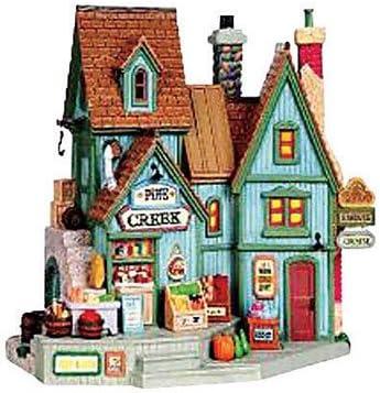 Lemax INC 95861 Pine Creek Market Porcelain Village Building 8 x10