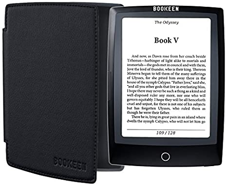 Bookeen CYBOY5F-BK-BLK lectore de e-Book Pantalla táctil 4 GB WiFi ...