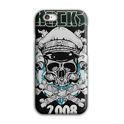 Rock Music Death Skull Skull Cap iPhone 6 / 6S Case | Wellcoda