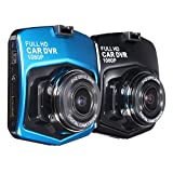 """AerWo 2.4"""" Windshield/Dashboard Car DVR , HD Dash Cam, DVR Accident Video Recorder with 170 Degree View Angle, Full HD 1080P with G-Sensor for Auto-Recording"""