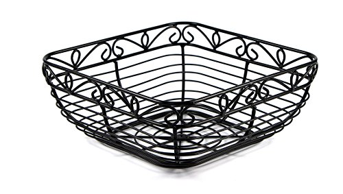 PAO MOTOING Retro Design Fruit Bowl,Wire Fruit Basket