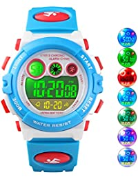 Kids Watches, Digital Analog Sports Waterproof Outdoor...