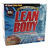 Labrada Nutrition Lean Body Chocolate Ice Cream 42-2.78oz (79g) packets by Labrada
