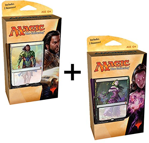 Magic-The-Gathering-Amonkhet-Planeswalker-Decks-Set-150-cards-Gideon-Liliana