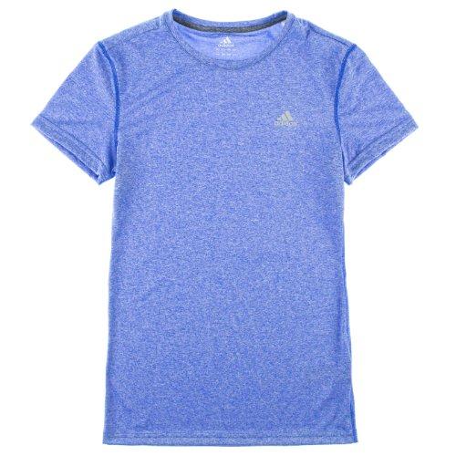 Lab Climalite Adidas Heather Blue Donna coal Athletic Maglietta color qxq4Ird