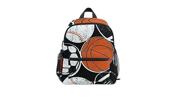 Bolas de Deporte Fútbol Balón de Baloncesto Mochila de la Escuela ...