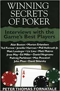 Winning tournament poker book