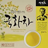 100% Wild Chrysanthemum Tea 1 Carton X 40 Tea bags, Premium Korean Herb