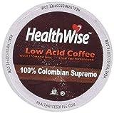 HealthWise Low Acid Coffee for Keurig K-Cup Brewers, 100%...