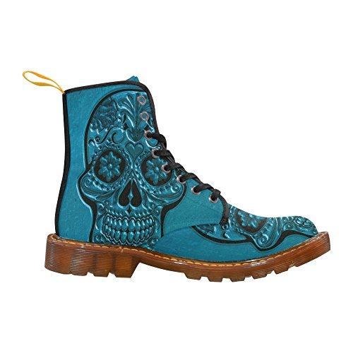 Leinterest Skull Martin Botas Zapatos De Moda Para Hombres